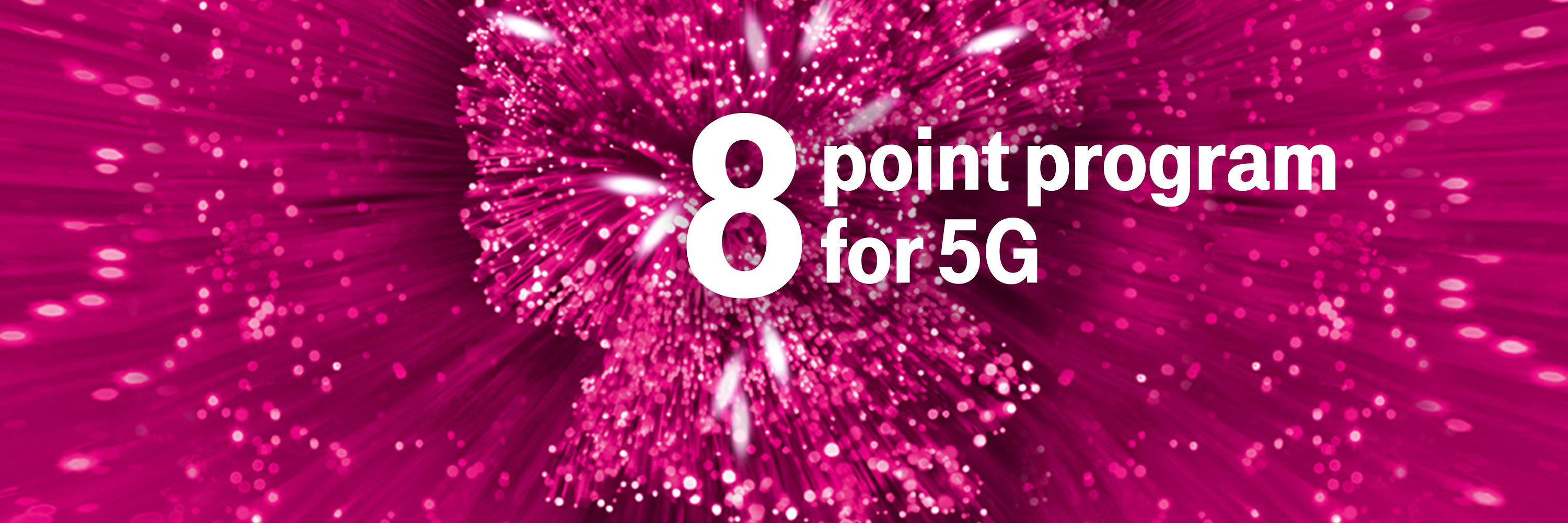 8 point program for 5G