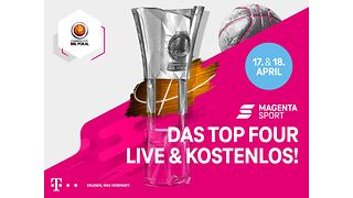 MagentaSport: TOP FOUR MagentaSport BBL Pokal